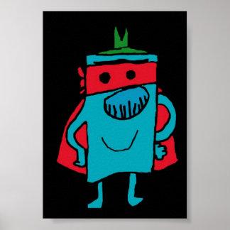 Mr. grumpy print