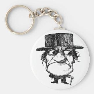 Mr Grumpyhead Key Ring