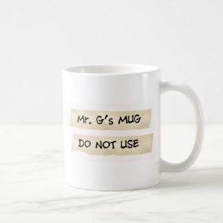 Mr. G's Mug