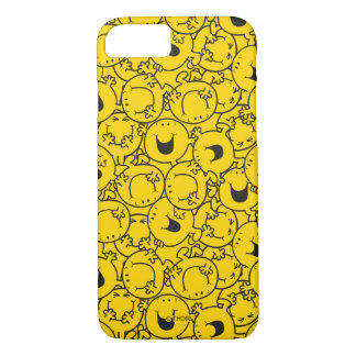 Mr  Happy | Batch of Yellow Smiles Pattern iPhone 8/7 Case