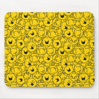 Mr  Happy | Batch of Yellow Smiles Pattern Mouse Pad