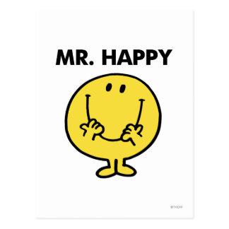 Mr Happy Classic 1 Postcard
