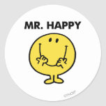 Mr Happy Classic 1 Stickers