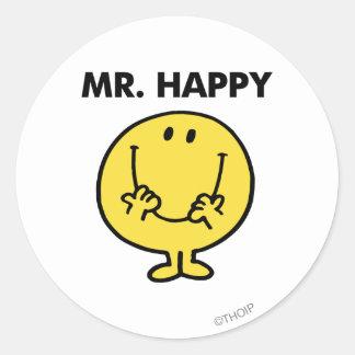 Mr Happy Classic 1 Stickers