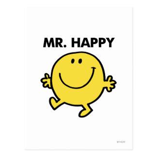 Mr Happy Classic 2 Postcard