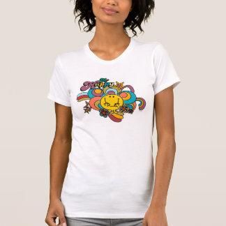 Mr. Happy | Colorful Swirls & Stars T-Shirt