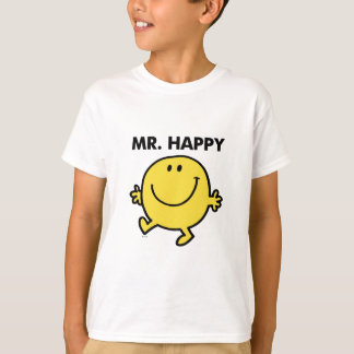 Mr. Happy | Dancing & Smiling T-Shirt