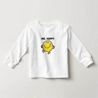 Mr. Happy | Dancing & Smiling Toddler T-Shirt