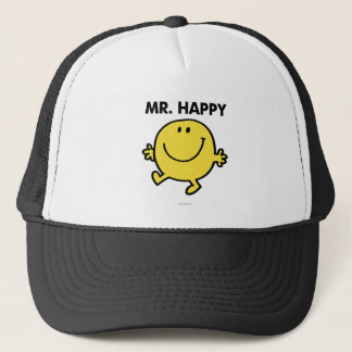 Mr. Happy | Dancing & Smiling Trucker Hat