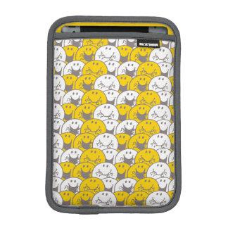 Mr Happy | Flashing Smiles Pattern iPad Mini Sleeve