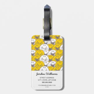Mr Happy | Flashing Smiles Pattern Luggage Tag