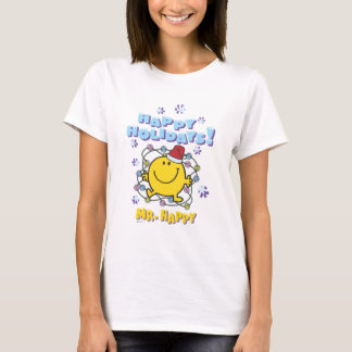 Mr. Happy | Happy Holidays T-Shirt
