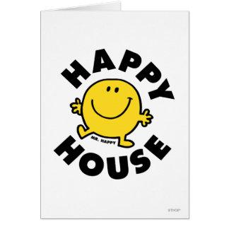 Mr. Happy   Happy House Card