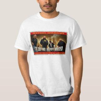 Mr. Happy Invasion (White) T-shirt