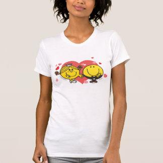 Mr. Happy & Little Miss Sunshine Wedding T Shirt