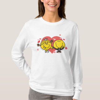 Mr. Happy & Little Miss Sunshine Wedding T-Shirt