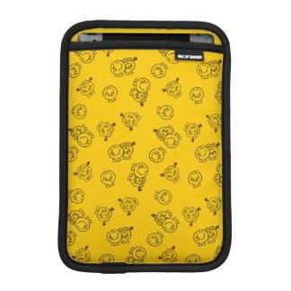 Mr Happy & Little Miss Sunshine | Yellow Pattern iPad Mini Sleeve