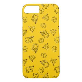 Mr Happy & Little Miss Sunshine | Yellow Pattern iPhone 8/7 Case