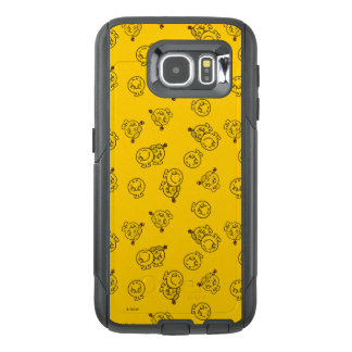 Mr Happy & Little Miss Sunshine | Yellow Pattern OtterBox Samsung Galaxy S6 Case