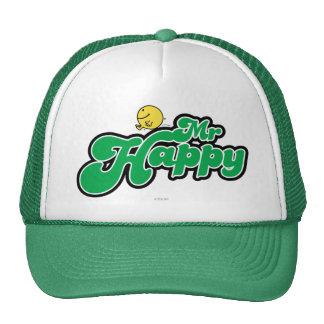 Mr Happy Logo 5 Hats