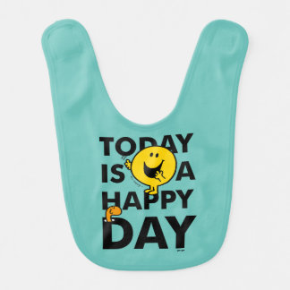 Mr. Happy | Today is a Happy Day Bib