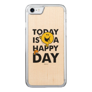Mr. Happy | Today is a Happy Day Carved iPhone 8/7 Case