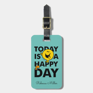 Mr. Happy | Today is a Happy Day Luggage Tag