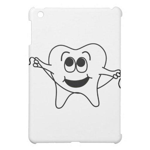 Mr. Happy Tooth iPad Mini Covers