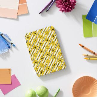 Mr Happy   Yellow Stripes Pattern iPad Mini Cover