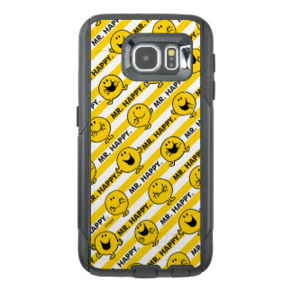 Mr Happy | Yellow Stripes Pattern OtterBox Samsung Galaxy S6 Case