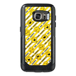 Mr Happy | Yellow Stripes Pattern OtterBox Samsung Galaxy S7 Case