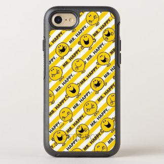 Mr Happy | Yellow Stripes Pattern OtterBox Symmetry iPhone 8/7 Case