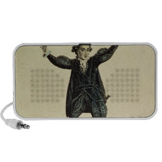 Mr Holman in the Character of Romeo, pub. 1784 iPod Speaker