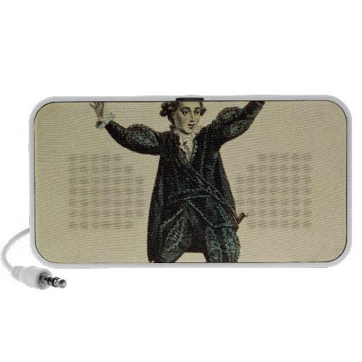 Mr Holman in the Character of Romeo, pub. 1784 iPod Speaker