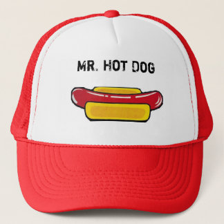 Mr. Hot Dog Cap