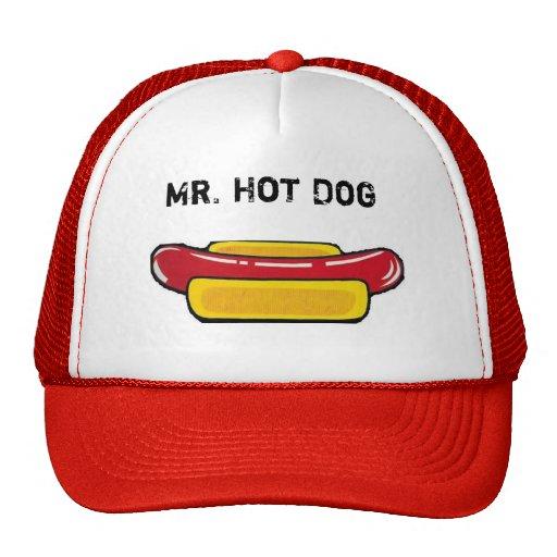 Mr. Hot Dog Cap Mesh Hat