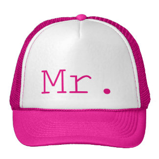 Mr. Hot Pink Customizable Cap