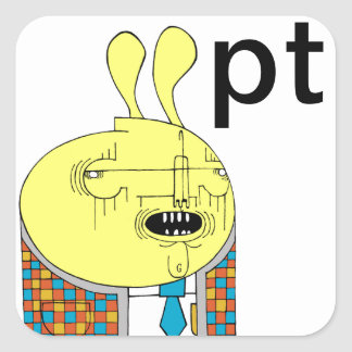 Mr.IateHErMayo Square Sticker