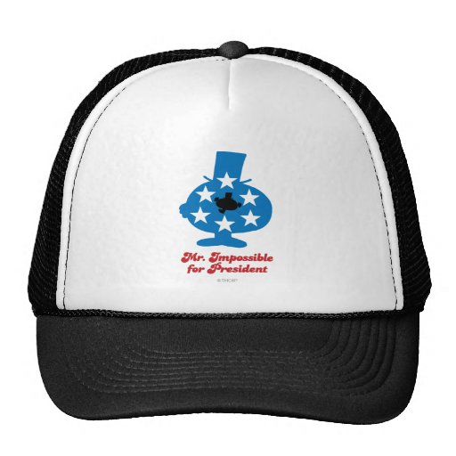 Mr. Impossible For President Mesh Hats