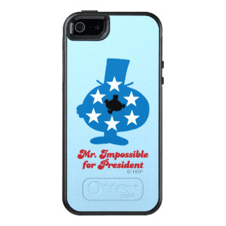 Mr. Impossible For President OtterBox iPhone 5/5s/SE Case