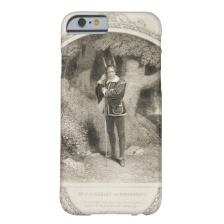 Mr J.P. Harley as Touchstone, Act V Scene 1, in As Barely There iPhone 6 Case