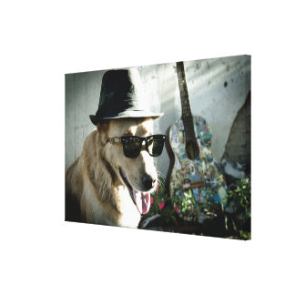 Mr. Jack Stretched Canvas Print