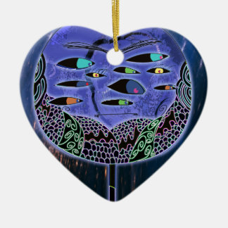 Mr Jacobs Ceramic Heart Decoration