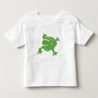Mr. Jumps A. Lot, Toy frog green Toddler T-Shirt