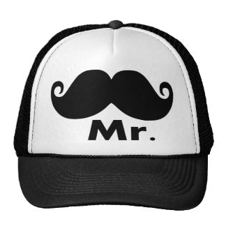 mr,just married,funny couple hat set x 2