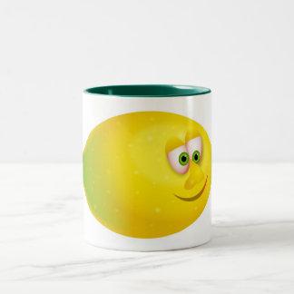 Mr Lemon Two-Tone Coffee Mug