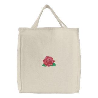 Mr. Lincoln Rose Canvas Bag