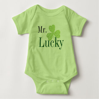 Mr Lucky Baby Bodysuit