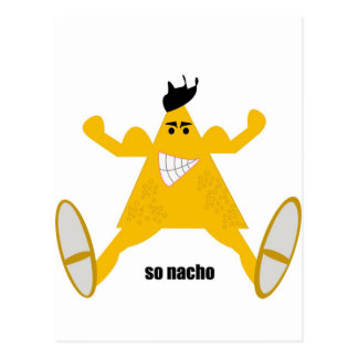 Mr Macho Nacho Post Card