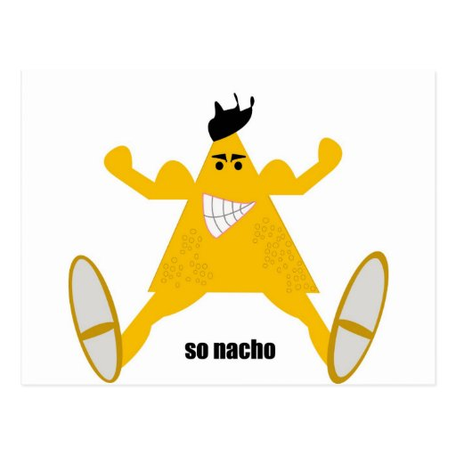 Mr Macho Nacho Postcards
